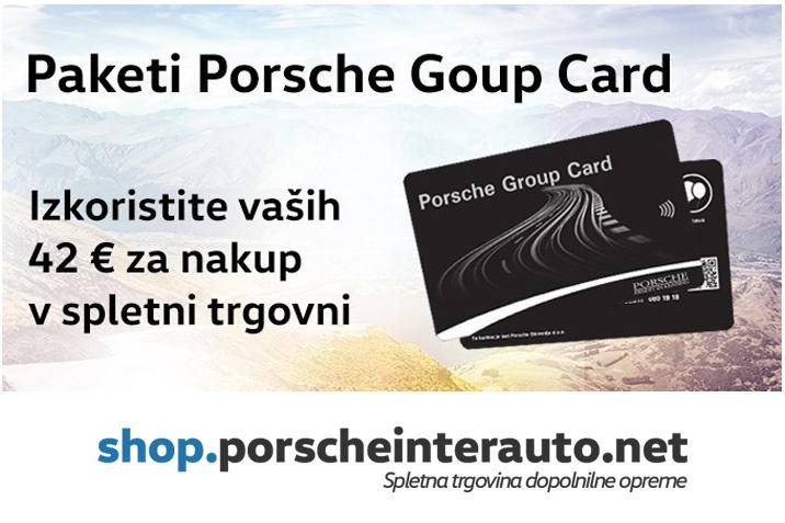 Koriscenje PGC Bonus Porsche card Audi VW SEAT Škoda