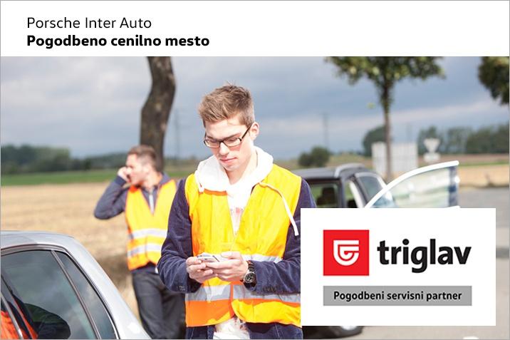 Uradni pogodbeni servis Zavarovalnice Triglav.