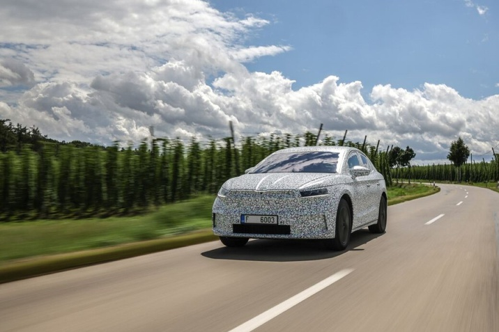 Škoda Enyaq Coupe iV 2022