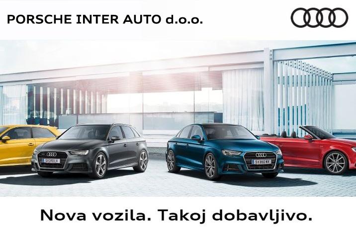 Audi - Nova vozila. Takoj dobavljivo.